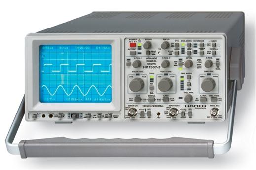 Oscilloscope numérique HAMEG HM1507.