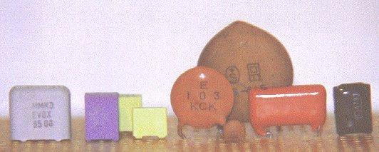Condensateurs non polarisés